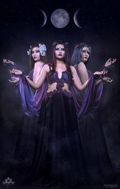 Fantasy Wedding Dresses, Fantasy Gowns, Greek Goddess Costume, Goddess Dress, Fairy Cosplay, Fairy Tale Costumes, Fairytale Dress, Triple Goddess, Tribal Fusion