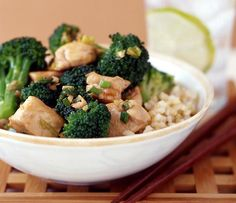 Chicken Teriyaki with Broccoli - Simply Filling: Main Courses | Weight Watchers SmartPoints Z