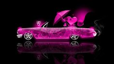 awesome pink car wallpapers