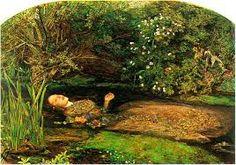 Millais. Ophelia, 1851-1852. Prerrafaelistas