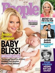 JS on People mag - she and Max look stunning!