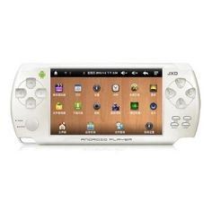 JXD S602 4.3 Inch Android 4.0 Game Tablet PC HDMI 4G HDMI White
