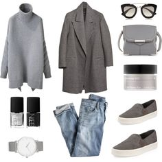 A fashion look from February 2015 featuring Alexander Wang sweaters, J.Crew jeans and Vince sneakers. Browse and shop related looks.