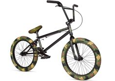 Stolen Bikes X Fiction BMX Jungle Camo Bike  DETAILS: http://bmxunion.com/daily/stolen-x-fiction-bmx-camo-complete-bike/  #BMX #bike #bicycle #camo #camouflage