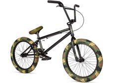 Stolen Bikes X Fiction BMX Jungle Camo Bike DETAILS: http://bmxunion.com/daily/stolen-x-fiction-bmx-camo-complete-bike/ #BMX #bike #bicycle #camo #camouflage