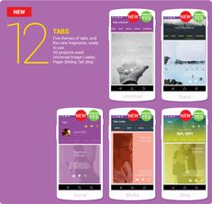 16 Best Mobile App Templates Images Mobile App Templates Android