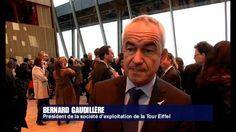 video - Inauguration 1er étage tour eiffel  http://www.france24.com/en/20141006-eiffel-tower-glass-floor-facelift-paris-france/
