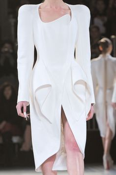 Thierry Mugler at Paris Fashion Week Fall 2012