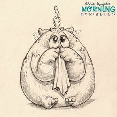 It's booger season! #morningscribbles | 출처: CHRIS RYNIAK