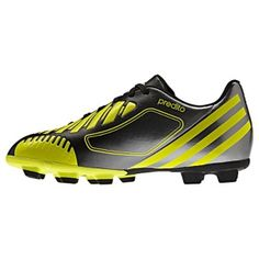 SALE - Adidas Predito LZ Soccer Cleats Kids Black Synthetic - Was $40.00 - SAVE $8.00. BUY Now - ONLY $32.00