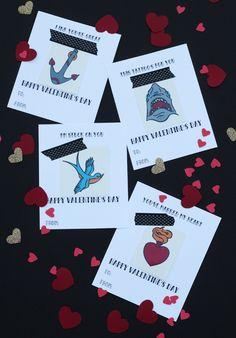 Free printable tattoo valentines