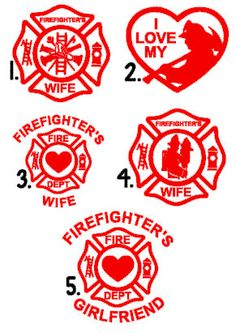 Items similar to Firefighter's Wife Decal- Fightfighter car decal, fireman's wife, firefighter girlfriend, fire department, GLITTER available on Etsy Firefighter Crafts, Firefighter Humor, Firefighter Shirts, Firefighters Wife, Firefighter Family, Female Firefighter, Silhouette Curio, Silhouette Cameo Projects, Vinyl Crafts