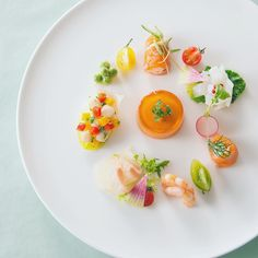 Pin by フジー on 前菜 Chefs, Food Plating Techniques, Michelin Star Food, Fancy Appetizers, Pumpkin Smoothie, Food Design, Food Presentation, Food Styling, Gourmet Recipes
