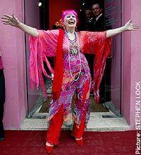 Zandra Rhodes Designs | ... Zandra Rhodes's Fashion and Textile Museum. Richard Dorment reports
