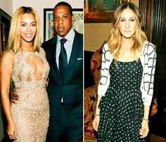 "Beyonce and Jay-Z ""Blew Off"" Oscars Night to Hang Out With Sarah Jessica Parker in New York City"