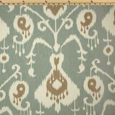 Java Spa Ikat cotton fabric print yardage curtains pillows upholstery Magnolia Home on Etsy, $8.25