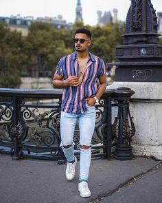 """Inspiração de """"fim de ano"""" by Mr Passy – Gossip Boy Cool Outfits For Men, Summer Outfits Men, Casual Wear For Men, Stylish Mens Outfits, Men's Outfits, Men Summer, Summer Vegas Outfit, Moda Hipster, Mens Attire"""