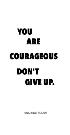 You've got this, girl.