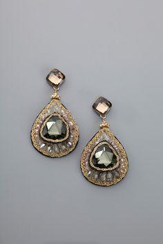 MORGAN ASHLEIGH Pear-Shaped Statement Earrings $49.99