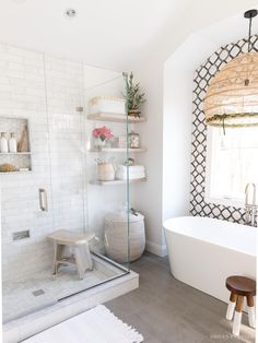Bathroom Renos, Bathroom Renovations, Remodel Bathroom, Budget Bathroom, Driven By Decor, Dream Bathrooms, Master Bathrooms, Small Bathrooms, White Bathrooms