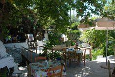 Taverne in Pnaka Samos, Bar, Patio, Table Decorations, Outdoor Decor, Furniture, Home Decor, Homemade Home Decor, Yard
