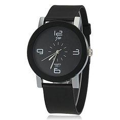 Vrouwen+Simple+Dial+siliconen+band+quartz+horloge+(verschillende+kleuren)+–+EUR+€+6.85