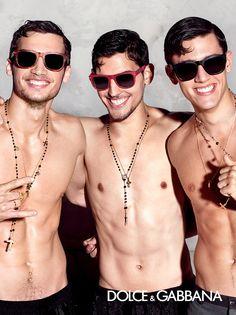 See Dolce & Gabbanas Amazing Spring/Summer 2015 Mens Eyewear Campaign