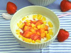 Mango, Cantaloupe, Dessert, Fruit, Food, Almond Milk, Oatmeal, Pies, Mudpie