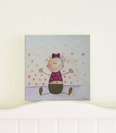 Original Art Original Painting Nursery Art by AthinArtCreations