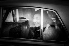 Rain on your wedding day photos. Always look for the positives. Black and white wedding photography.