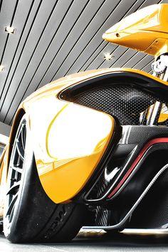McLaren P1 Closeup