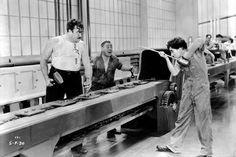 Analyse d'une séquence des Temps modernes de Charlie Chaplin - [Petit bazar de connaissances]