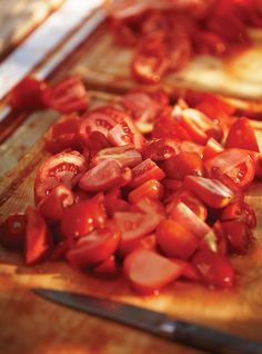 Pizza Sauce - Recipes to Cook - Pizza Rezepte Oven Roasted Tomatoes, Roasted Tomato Soup, Pizza Recipes, Sauce Recipes, Cooking Recipes, Vegetarian Recipes, Rose Sauce Recipe, Recipe Pasta, Bolognese Sauce