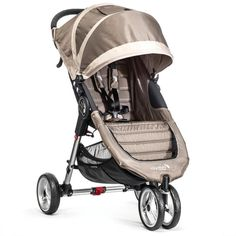 "Baby Jogger City Mini Single Stroller - Sand/Stone - Toys""R""Us - Perfect for the holiday! #stroller #sand #stone #single #mini #jogger #city #baby"