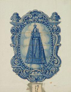 Fronteira, Nossa Senhora da Vila Velha - Azulejos, Portuguese Tiles