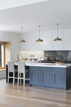 The Marylebone Kitchen | Kitchen Showrooms Ireland | Newcastle Design Luxury Kitchen Design, Best Kitchen Designs, Luxury Kitchens, Interior Design Kitchen, Cool Kitchens, Modern Interior, Living Room Kitchen, New Kitchen, Kitchen Decor