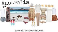 What to Wear when Backpacking Australia SUMMER #travel #packing #list via TravelFashionGirl.com