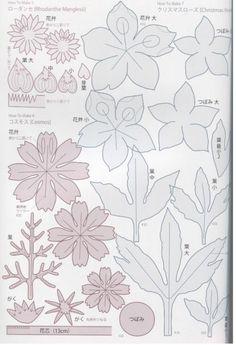 many silk flower patterns
