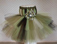 Sparkle Camo Baby Tutu Dress for Portraits Photo by TheFabuTutu, $30.00