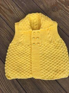 Kesme Şeker Örgü Bebek Yeleği Yapılışı | Hobiler - Hobiler