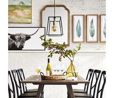 This bold, modern take on Farmhouse style is as fresh as it is traditional. Get the look this holiday season and host dinner parties that will dazzle guests. Here's everything you need via @Target.   #shoppingguide #dinnertable #thanksgiving #tablescape