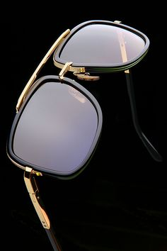 The Mach One in Gold and Black #DITAeyewear