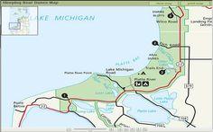 Warren Dunes Campground Map Camping Pinterest Dune