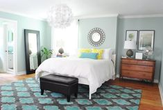 really loving the bedroom over at YHL // @Sherry @ Young House Love