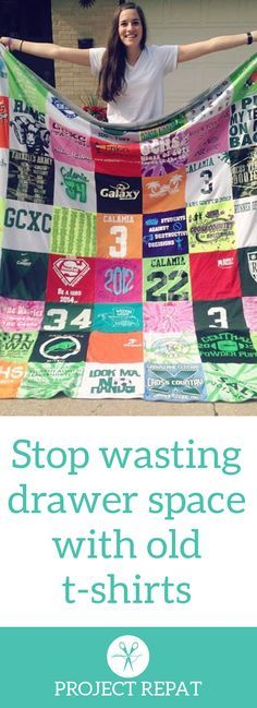 Every t-shirt quilt has a unique story to tell — what will yours say? Learn more about how you can turn t-shirts into a great conversation starter with Project Repat. https://www.projectrepat.com/?utm_source=Pinterest&utm_medium=3.5P