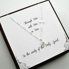 Key Necklace / Diamond Key Pendant / Diamond Necklace / Dainty Key Charm Necklace / Gold Key Necklace / Diamond Key Charm / Gift for her Item Details Side Cross Necklaces, Cross Necklace Sideways, Sideways Cross, Dainty Diamond Necklace, Gemstone Necklace, First Communion Gifts, Confirmation Gifts, Star Wars, Key Pendant