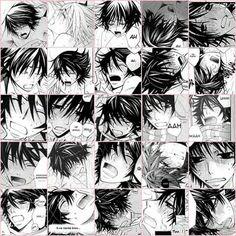 Hermosos gestos de Misaki :3