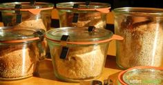 Brot im Glas backen - lange haltbar und immer frisch