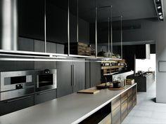 Cuisine ultra moderne: la cuisine équipée Boffi Code Kitchen