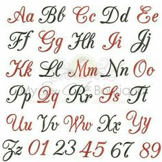 Small Wedding Machine Embroidery Monogram Fonts Alphabet, Small Embroidery Fonts PES, BX Embroidery Fonts for Embroidery Font Design Alphabet Cursif, Fonte Alphabet, Cursive Fonts Alphabet, Pretty Fonts Alphabet, Alphabet Templates, Handwriting Fonts, Lettering Tutorial, Cursive Letters Fancy, 26 Letters